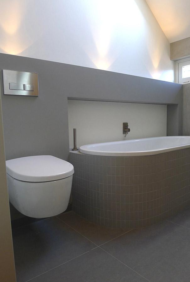 Badkamer Ontwerp Betonstuc Sittard | Interieurarchitectuur ...