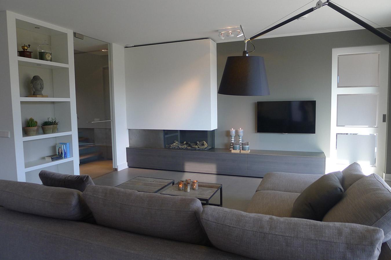 Interieur ontwerp nieuwbouw interieurarchitectuur for Inrichting huis ontwerpen